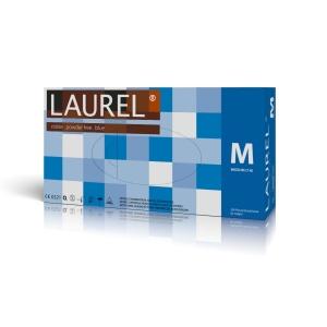 Rękawiczki nitrylowe pakowane po 200szt LAUREL blue