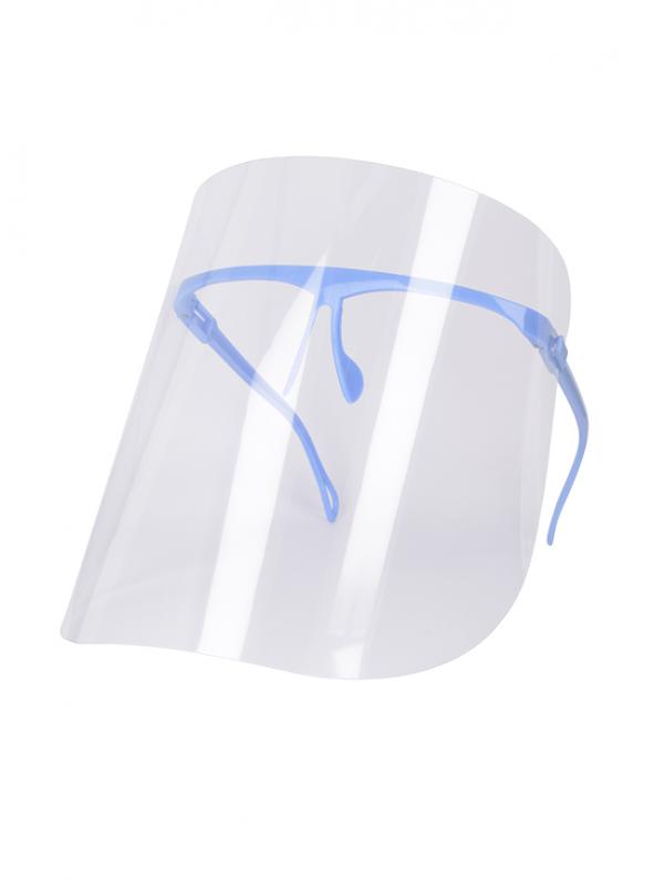 przyłbica ochronna niebieska