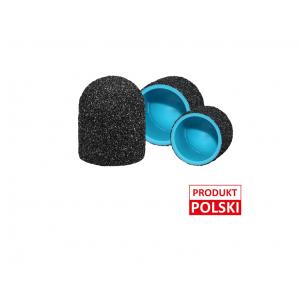 Kapturki ścierne MedCap 10 mm czarne – 10 sztuk