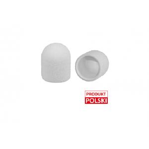 Kapturki ścierne  MedCap 10mm białe – 50 sztuk