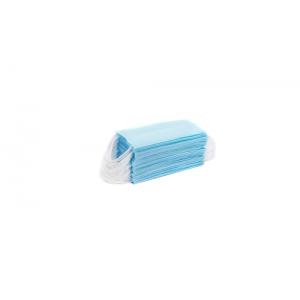 Maseczki jednorazowe trójwarstwowe  – 50 szt